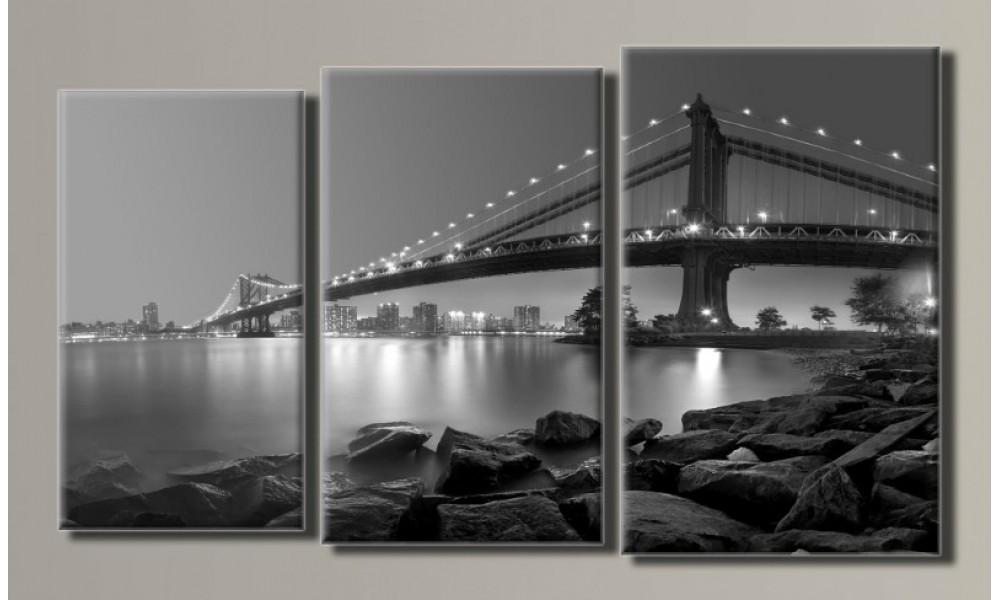Модульная картина New York-7 55х96 см (HAT-109)