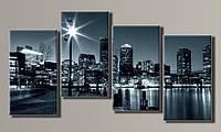 Модульная картина Boston 71х130 см (HAF-064)