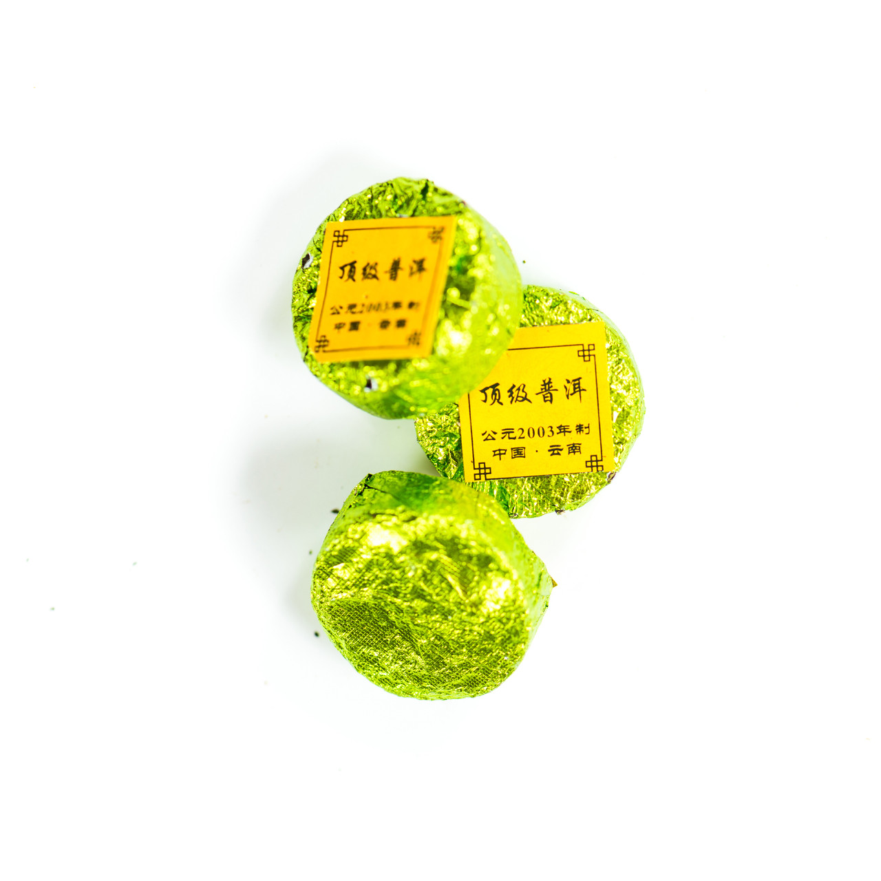 "Чай ""Пуер витриманий ШЕН  ""Медальйон"" 6 г. (Зелений)"