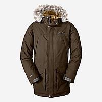 Куртка Eddie Bauer Mens Superior Down Parka OAK L Темно-коричневый 5572OK, КОД: 1700524