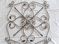 Барокко декоративое кованное 800*800 мм пол.12*6мм вальцованная, фото 1