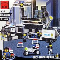 128 «Машина полицейского оцепления» Конструктор BRICK