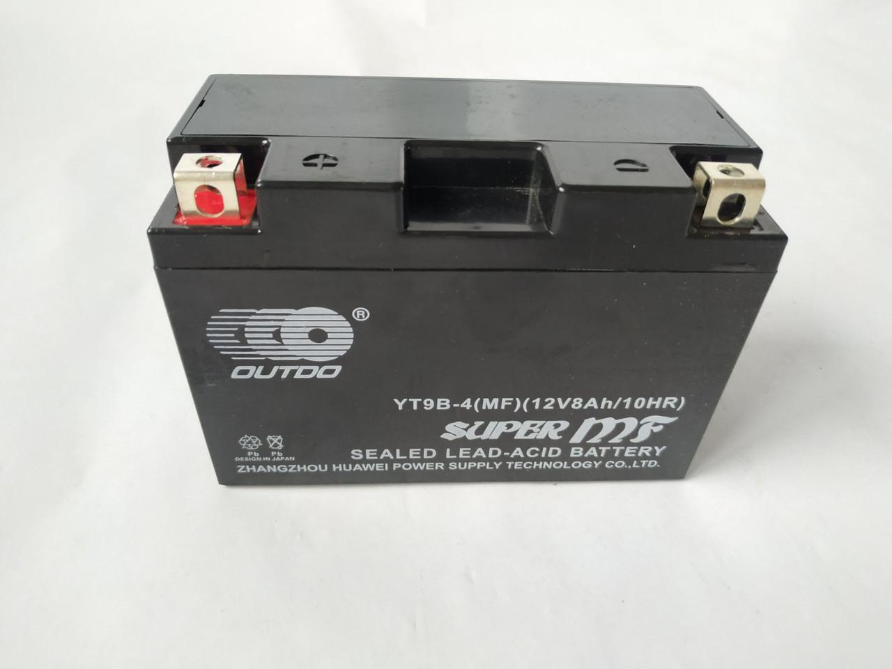 Аккумулятор 9A 12V (YT9B) гелевий 150x70x107 Japan Tech