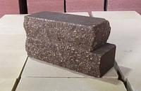 """Цегла Мармурна"""" ложкова коричнева (250х100х65) ПП"""""""