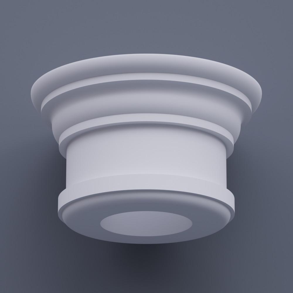 Капитель круглая ФКП 3 h250 (d250)
