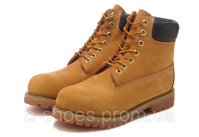 Ботинки женские  Timberland 6-inch Waterproof Boots Brown