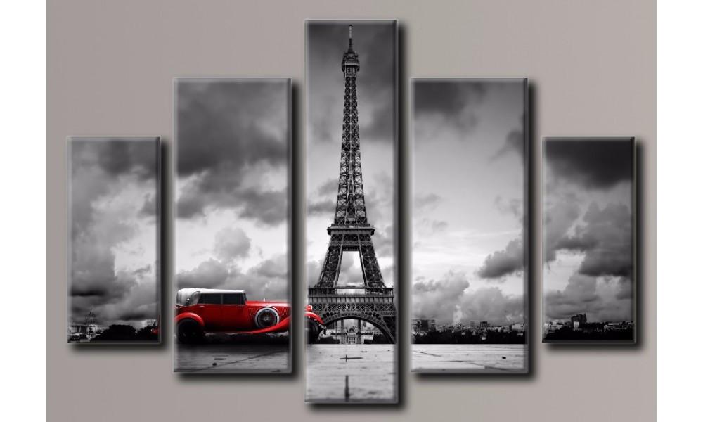 Модульная картина Париж-5 78х115 см (HAB-074)