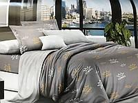 Красивое стильное постельное белье, євро, корона