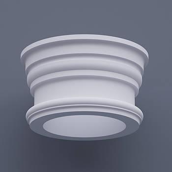 Капитель круглая ФКК 9 h280 (d400)