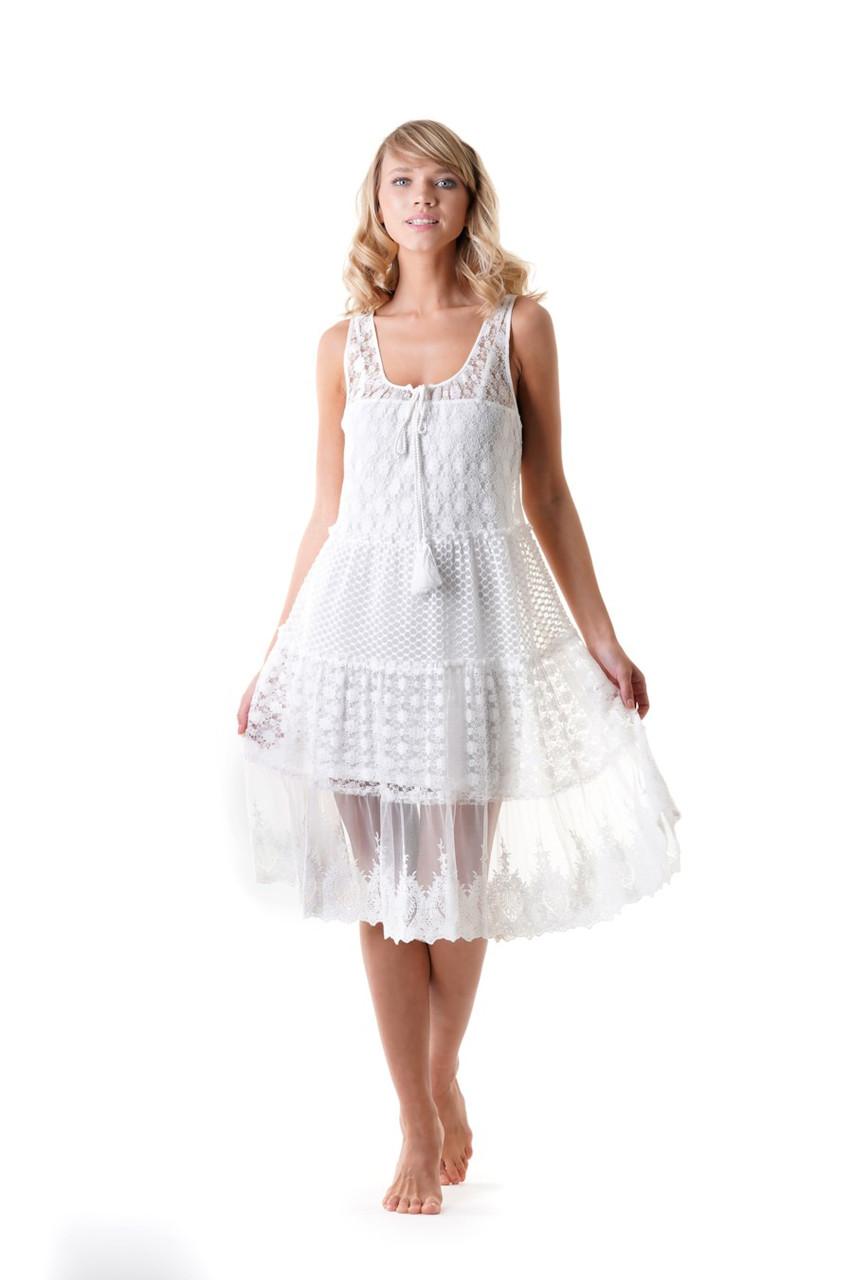 Платье Iconique S Белый (54217)
