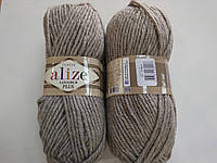 Пряжа для вязания Alize Лана голд плюс бежевый 207