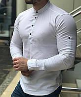 Мужская Рубашка Белая Ruff 04