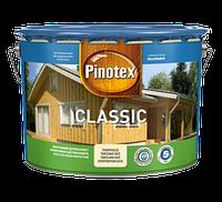 Pinotex Classic Lasur 10 л деревозащитный лак Пинотекс Классик Лазурь +P