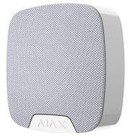 Беспроводная комнатная сирена Ajax HomeSiren, White, фото 1