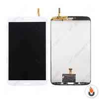 "Дисплей (экран) для Samsung T311 Galaxy Tab 3 8.0"",  (версия 3G) + Сенсор/ Тачскрин (Модуль) белый оригинал"