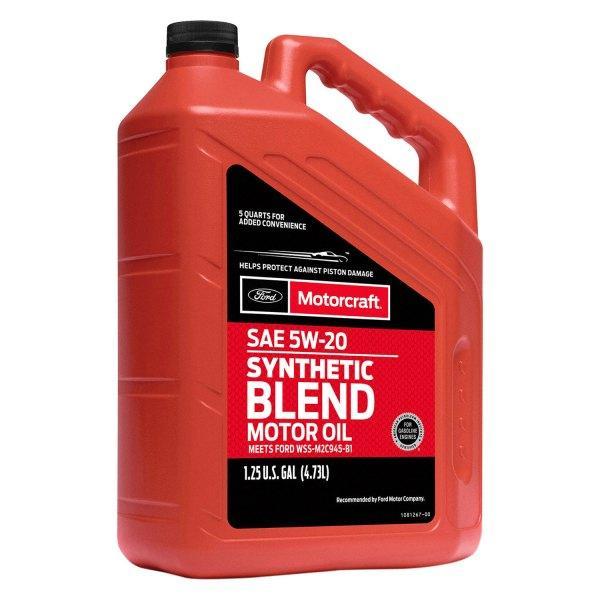 Масло 5W20 4,73L Syntetic Blend MOTORCRAFT XO5W205Q3SP