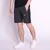 Чоловічі трикотажні шорти NIKE, кольору бордо., фото 3