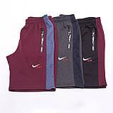 Чоловічі трикотажні шорти NIKE, кольору бордо., фото 5