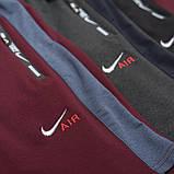 Чоловічі трикотажні шорти NIKE, кольору бордо., фото 6