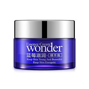 Крем для лица с экстрактом черники BIOAQUA Wonder Essence Cream 50 г. увлажняющий от сухости и шелушений, фото 2