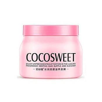 Питательная маска BIOAQUA Cocosweet Hair Mask 500 мл для восстановления разглаживания сухих пушащихся волос