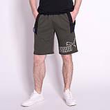 Чоловічі трикотажні шорти PUMA, кольору хакі, фото 2