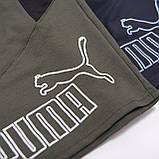 Чоловічі трикотажні шорти PUMA, кольору хакі, фото 6