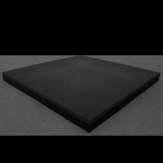 Гумова плитка 500х500х30 мм (темно-сіра) PuzzleGym