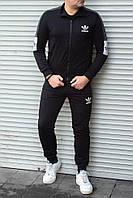 Мужской спортивный костюм Adidas без капюшона , светоотражающая лента S-L РАЗМЕР