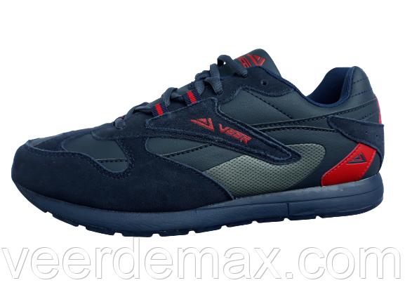 Мужские кроссовки Veer размеры 41-46 цвет- синий