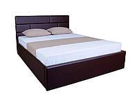 Кровать MELBI Джина Двуспальная 160х190 см с подъёмным механизмом Коричневый KS-018-02-2кор, КОД: 1640320