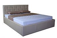 Кровать MELBI Моника Двуспальная 160Х200 см с подъемным механизмом Бежевый KS-016-02-3беж, КОД: 1670549