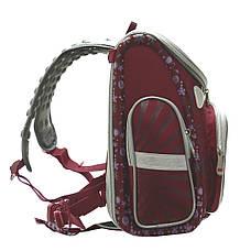Школьный ранец каркасный BAIYUN 35х31x17 с ортопедической спинкой краный цвет  ксА4НСкр, фото 2