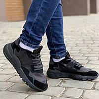 Adidas Nite Jogger кроссовки мужские летние/весенние кеди кроссовки