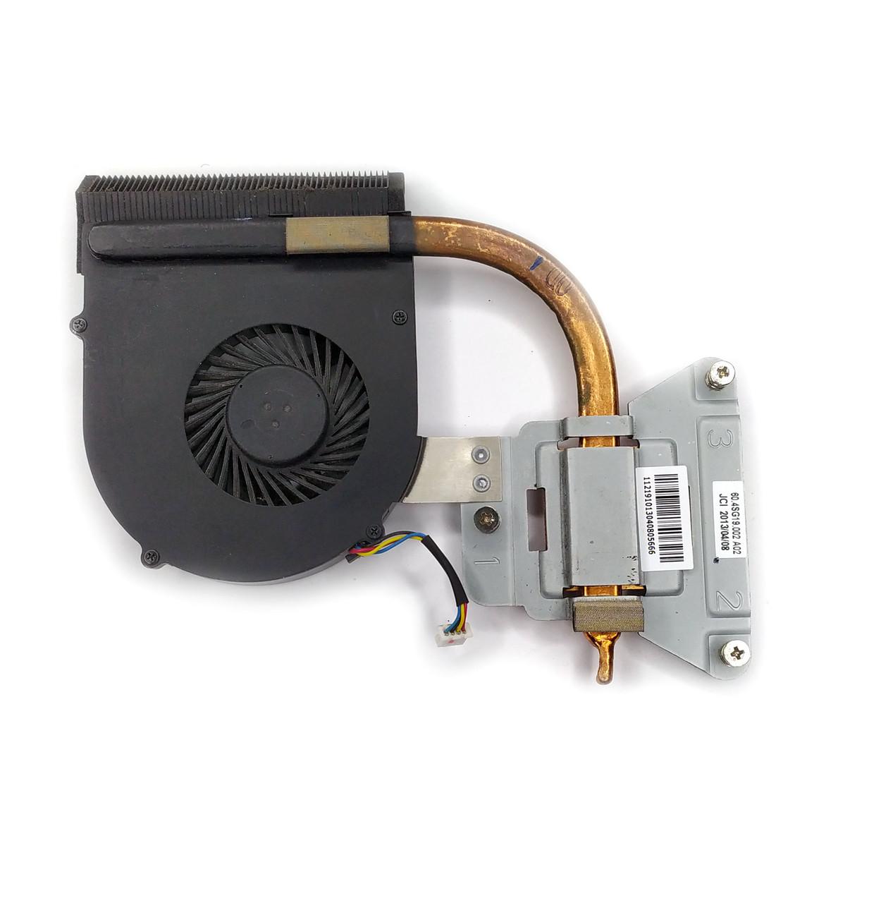 Охлаждение (вентилятор + радиатор) для ноутбука Lenovo IdeaPad G580