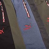 Чоловічі трикотажні шорти PUMA, чорного кольору, фото 7