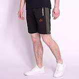 Чоловічі трикотажні шорти PUMA, чорного кольору, фото 3