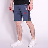 Чоловічі трикотажні шорти PUMA, чорного кольору, фото 4
