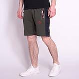 Чоловічі трикотажні шорти PUMA, чорного кольору, фото 5