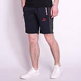 Чоловічі трикотажні шорти PUMA, чорного кольору, фото 6
