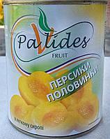 Персики консервовані половинки, Pavlides, Греція 850мл