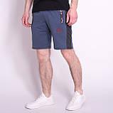 Чоловічі трикотажні шорти PUMA, синього кольору, фото 4
