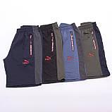 Чоловічі трикотажні шорти PUMA, синього кольору, фото 8