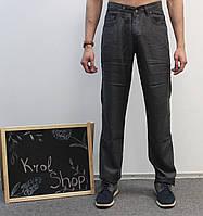 Джинсы - брюки мужские темно-серые классические 33, 36, 38 40  Le Gutti Турция