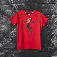 Мужская футболка Puma Ferrari красная