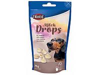 Ласощі для собак Trixie «Milk Drops» 75 г (молоко)