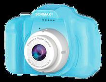 Детская Фотокамера Sonmax СИНЯЯ c 2.0″ дисплеем и с функцией видео
