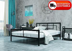 Полуторне ліжко Квадро 120*200/140*200 «Метал-Дизайн»