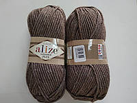 Пряжа для вязания Alize Лана голд плюс бежевый 240