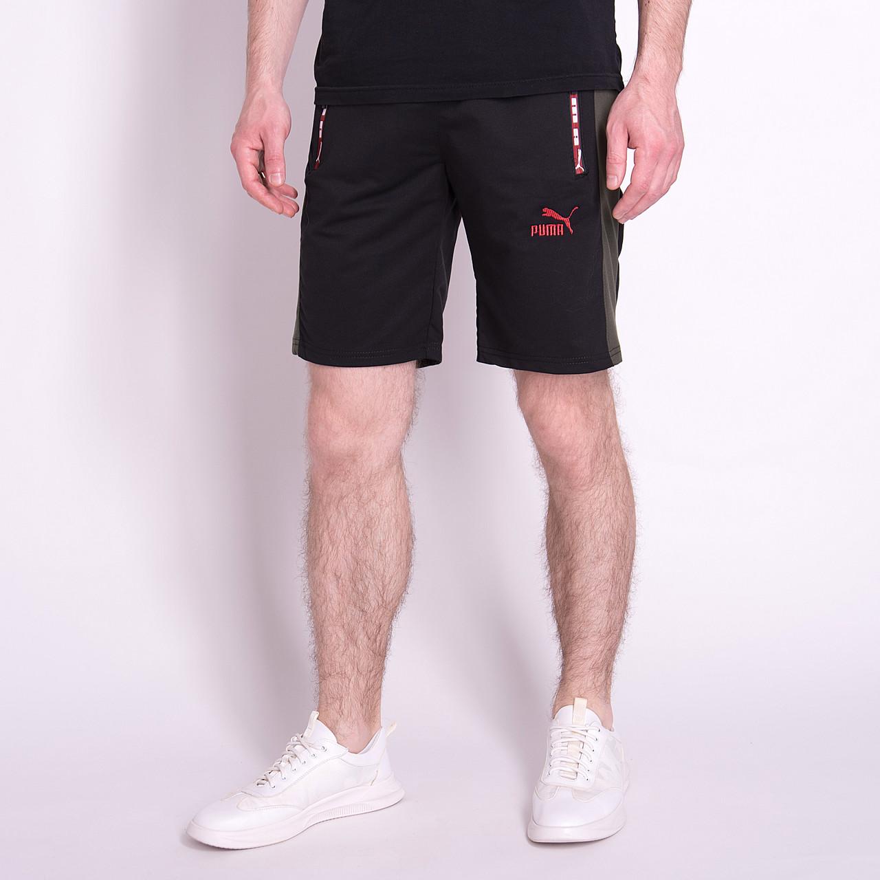 Чоловічі трикотажні шорти PUMA, чорного кольору